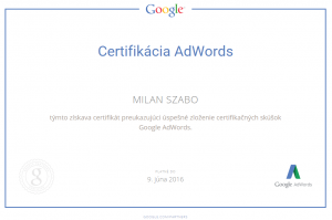 Google-AdWords-certifikát